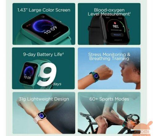 ساعت هوشمند آمازفیت Bip U محصولی از شیائومی - فروشگاه اینترنتی می های